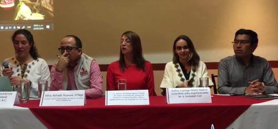 """Foro """"La educación de la niñez en situación vulnerable en San Cristóbal de Las Casas: una solución colectiva."""""""